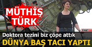 DOKTORA TEZİNİ BİZ KABUL ETMEDİK,...