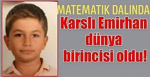 BAŞARININ GÖSTERGESÎ KARSLI EMİRHAN...
