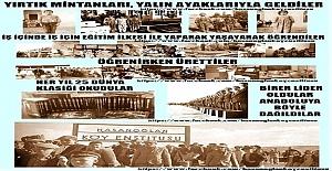 Köy Enstitülerinin kuruluşuna 17 Nisan 1940 yılında başlandı.