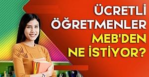 MEB'e Ücretli Öğretmenlerin Kadro...