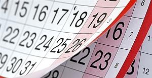 2020 Yılı Resmi Tatil Günleri Belli Oldu