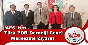 AES'den Türk PDR Derneği Genel Merkezine Ziyaret