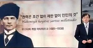 """Güney Kore'de """"Türkiye'nin Kurucusu"""" Diyerek Söz Başlayan Spiker"""