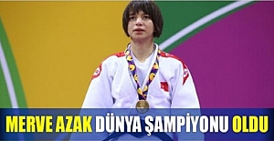 Merve Azak, Kazakistan'dan Dünya Şampiyonu olarak dönüyor!