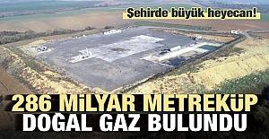 Tekirdağ'da 286 milyar metre küp doğalgaz rezervi bulundu