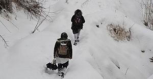8 Ocak Çarşamba Günü Bazı İl Ve İlçelerde Eğitime Kar Engeli