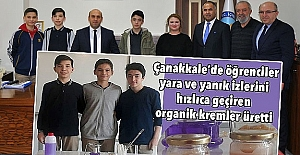 Organik Krem Üreten Lise Öğrencilerine Her Yerden Tebrik Mesajları Geliyor