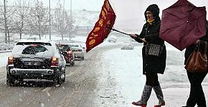 7 Ocak Salı Günü Birçok il ve ilçede eğitime kar engeli