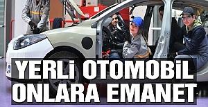 Yerli Otomobil Lise Öğrencilerine Emanet