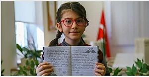 10 yaşındaki Elanur, matematik yarışması#039;nda...