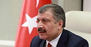 Sağlık Bakanı Fahrettin Koca, sosyal...