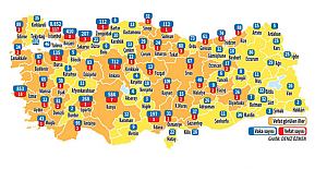 İstanbul'da ve hangi ilde korona virüsten kaç kişi öldü, vaka sayısı kaç? Korona virüs Türkiye haritası