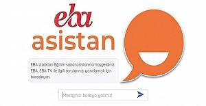 """YAPAY ZEKÂLI """"EBA ASİSTAN"""" 10 MİLYON SORUYA CEVAP VERDİ"""