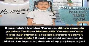 8 Yaşındaki Aymina...