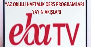 TRT EBA Tv Yaz Okulu Ders Programları MEB Tarafından Açıklandı