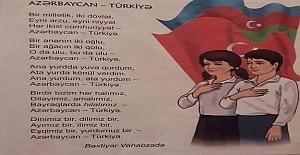 Azerbaycan'da okutulan 4. sınıf ders kitabı