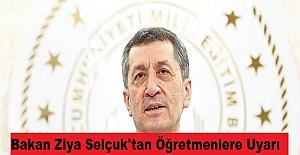 Bakan Ziya Selçuk#039;tan Canlı...
