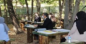 İbni Sina Anadolu Lisesi açık hava sınıfları Bakan Selçuk Tarafından açıldı
