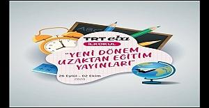 TRT EBA İlkokul, yeni dönem uzaktan eğitim programları (Güncel)