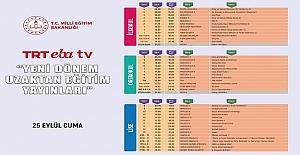 TRT EBA TV Yeni Dönem Uzaktan Eğitim Yayınları...