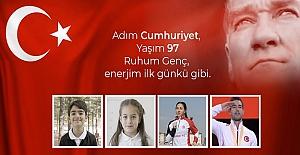 """BAKAN SELÇUK'UN 29 EKİM CUMHURİYET BAYRAMI MESAJI"""