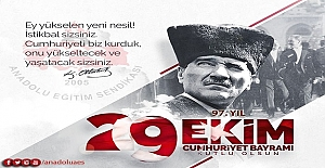 Cumhuriyetimizin 97. Yıldönümünü Coşkuyla Kutluyoruz