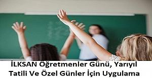 İLKSAN Öğretmenler Günü, Yarıyıl Tatili Ve Özel Günler İçin Uygulama Başlatıyor