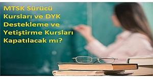 MTSK Sürücü Kursları ve DYK Destekleme...