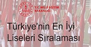 Türkiye#39;nin En İyi Liseleri Sıralaması...