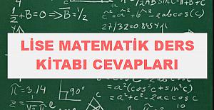 2020 - 2021 Yılı 12.Sınıf Matematik Ders Kitabı Cevapları - Çözümleri