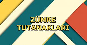 2020-2021 Türkçe Dersi 1. Dönem Zümre Toplantı Tutanağı