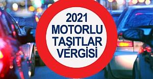 2021 Yılı Motorlu Taşıtlar Vergisi Tarifeleri. 2021 MTV ne kadar?