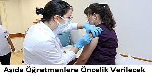 Aşıda Öğretmenlere Öncelik Verilecek