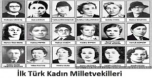 İlk Türk Kadın Milletvekilleri