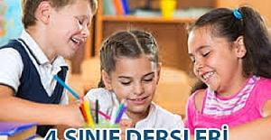 İlkokul 4. sınıfta hangi dersler var ve kaç saat?