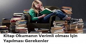 Kitap Okumanın Verimli olması İçin Yapılması Gerekenler