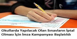Okullarda Yapılacak Olan Sınavların...