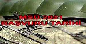 2021 Yılı Milli Savunma Üniversitesi Başvuruları