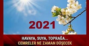 2021 yılında ilk cemre ne zaman düşecek?