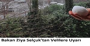 Bakan Ziya Selçuk'tan Velilere Uyarı