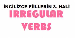 İngilizce Fiillerin 3. Hali (Verb3)