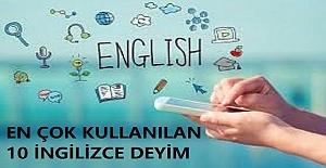 İngilizcede En Çok Kullanılan 10 Deyim