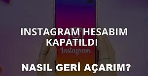 Instagram Hesabım Kapatıldı! Nasıl Geri Açabilirim 2021 ?