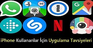 iPhone Kullananlar İçin Uygulama Tavsiyeleri
