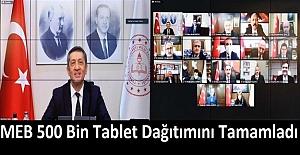 MEB 500 Bin Tablet Dağıtımını...