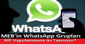 MEB'in WhatsApp Grupları BİP Uygulamasına mı Taşınıyor?