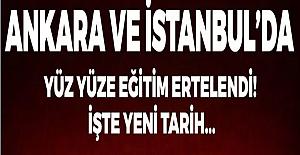 Ankara ve İstanbul#39;da Yüz Yüze...