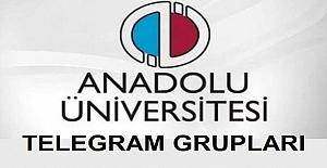 AÖF Bütün Bölümlerin Telegram Grupları