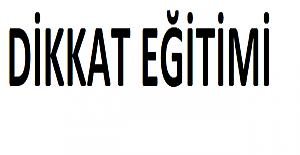DİKKAT EĞİTİMİ