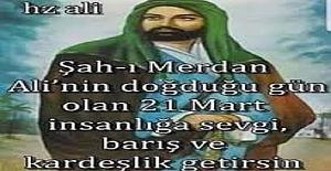 Hz. Alinin Doğum günü ve Sultan Nevruz (Mustafa Düzgün Dede)